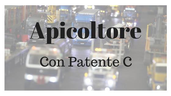 Apicoltore Patente C